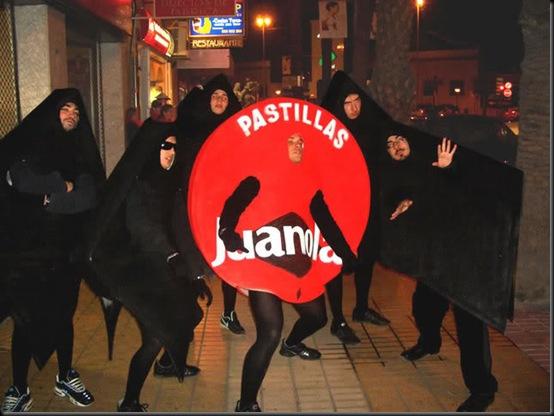 disfraz de Juanola Carnaval 2014