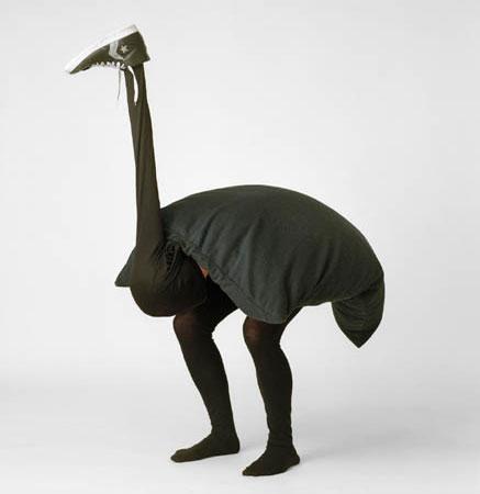 disfraz original avestruz Carnaval 2014
